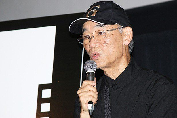 特集上映「ガンダムとその世界」のトークショーに登壇した富野由悠季
