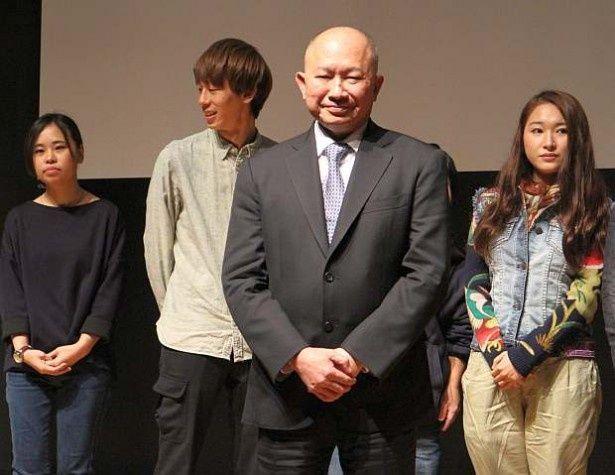 映画を学ぶ学生や若手の映画人を対象に、さまざまな質問に答えたジョン・ウー監督