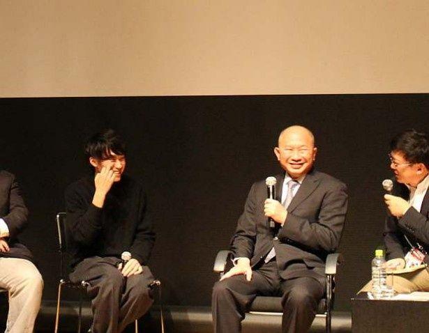 「そろそろ中国の若い映画人を育成することに力を注がねばならないと思う」と話していた