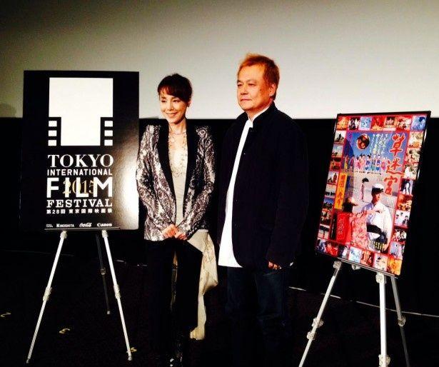 特集上映「寺山修司生誕80年 TERAYAMA FILMS」のトークイベントにアーティストの未唯が出席