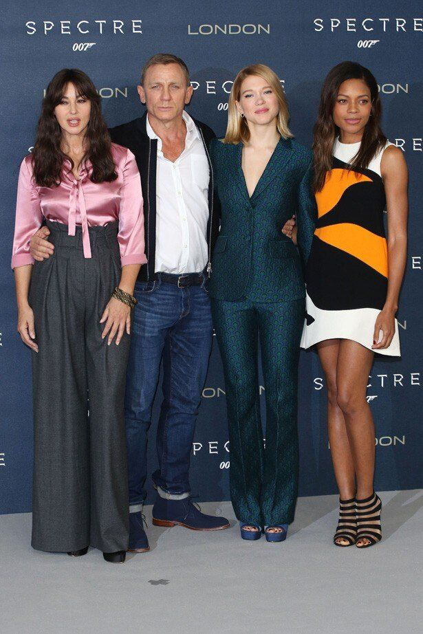 モニカ、レアに加え、『007 スカイフォール』(12)に続きナオミ・ハリスも出演
