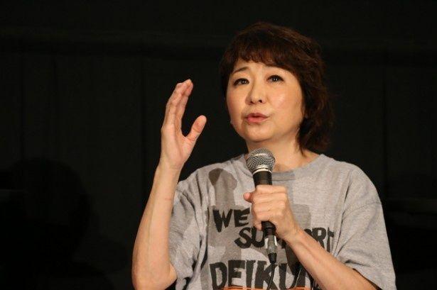 待望の「ガンダム」シリーズへの参加に感慨深いものがあったという田中真弓