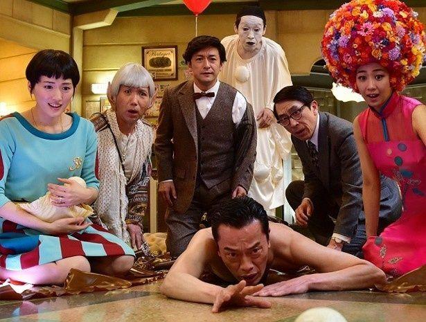 三谷幸喜が挑んだSF作品『ギャラクシー街道』が初登場首位!