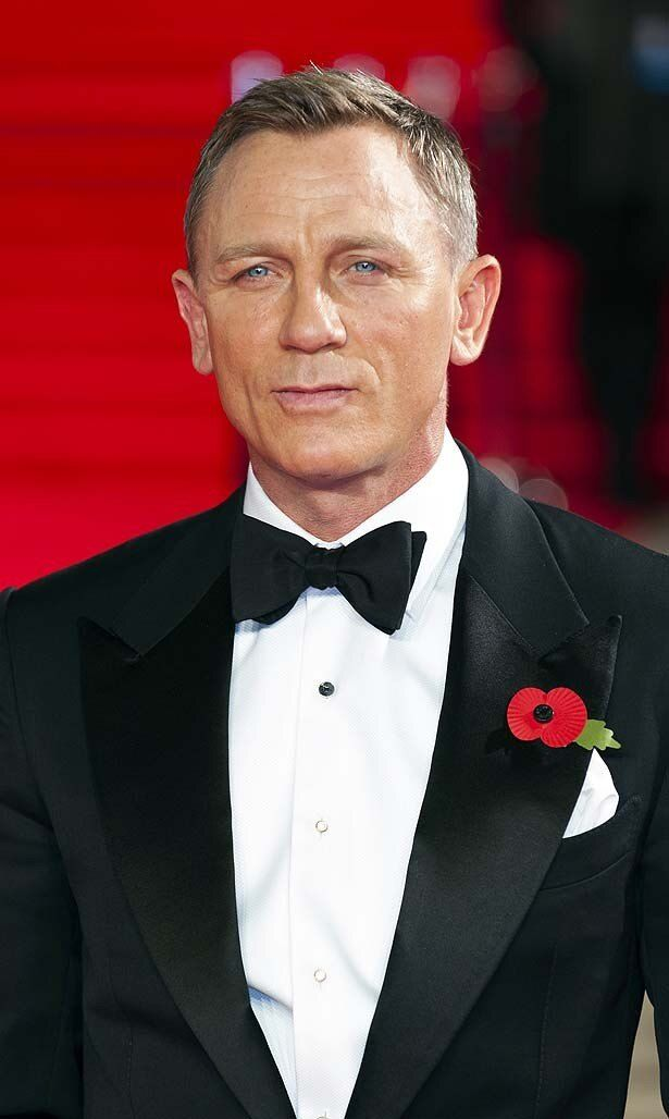 シリーズ最新作『007 スペクター』で4度目のジェームズ・ボンド役を演じるダニエル・クレイグ