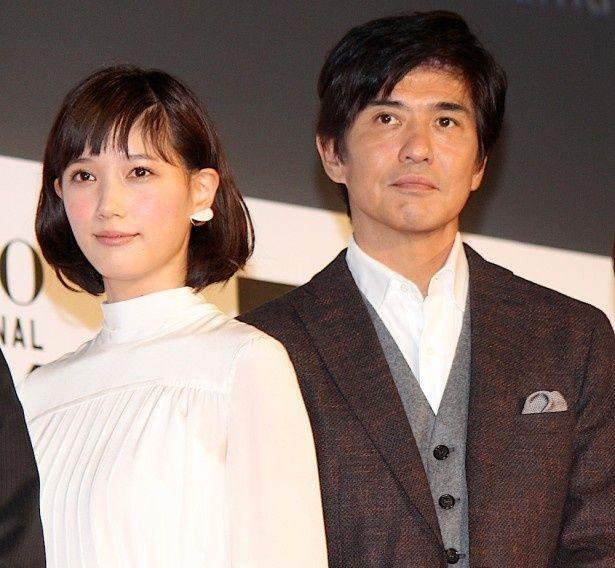 佐藤浩市と本田翼が東京国際映画祭に登場!