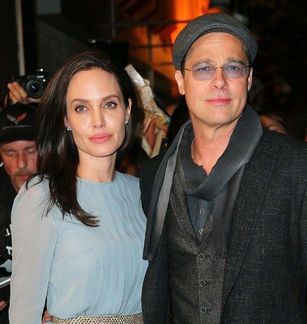 共演作のプロモーションを精力的に行っているアンジェリーナ・ジョリー&ブラッド・ピット夫妻