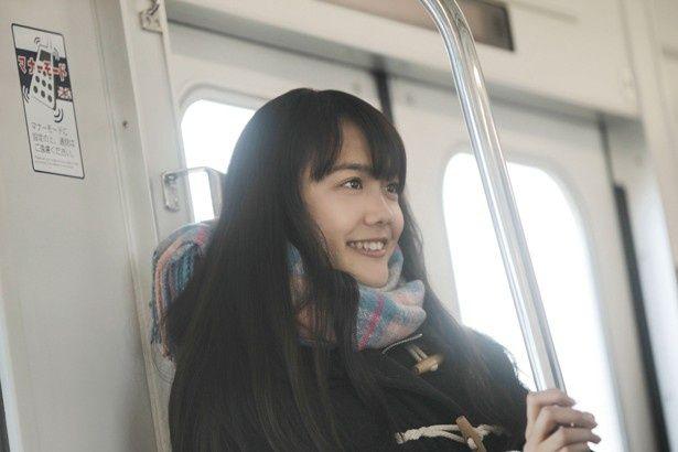松井愛莉は、『通学シリーズ 通学電車』でヒロインのユウナ役に