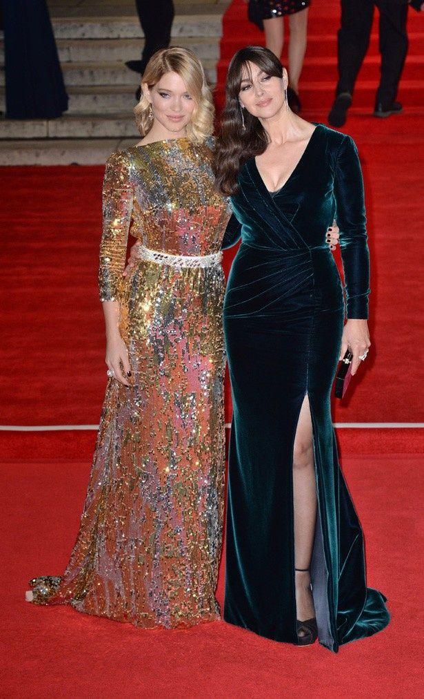 シリーズ最新作『007 スペクター』ではレア・セドゥとモニカ・ベルッチがボンドガールを演じる