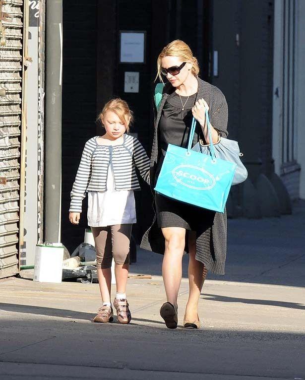 ケイト・ウィンスレットと娘のミア(写真は2009年頃のもの)