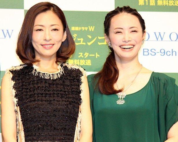 12年ぶりの共演を喜んだ松雪泰子とミムラ