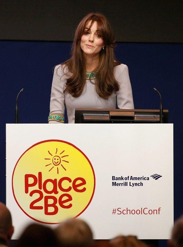 子供のメンタルヘルス問題についてスピーチを行ったキャサリン妃