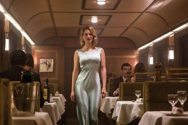 『007 スペクター』のマドレーヌ・スワン(レア・セドゥ)。妖艶な雰囲気にやられそう!