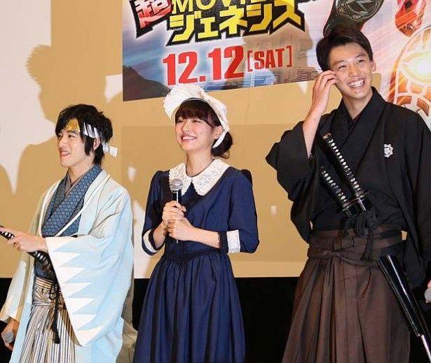 「仮面ライダードライブ」のヒロインである内田理央はナイチンゲールに変身!
