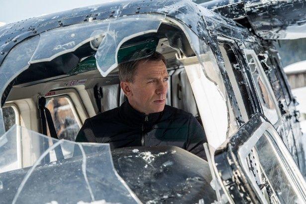 「007」シリーズの新作『007 スペクター』が初登場1位を獲得!
