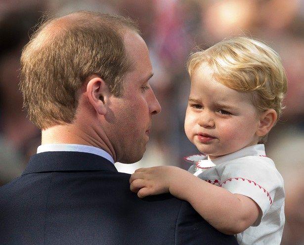 クリスマスを楽しみにしているというジョージ王子
