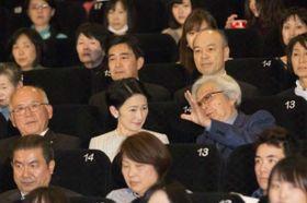 秋篠宮妃殿下が山田洋次監督作品『母と暮せば』をご高覧