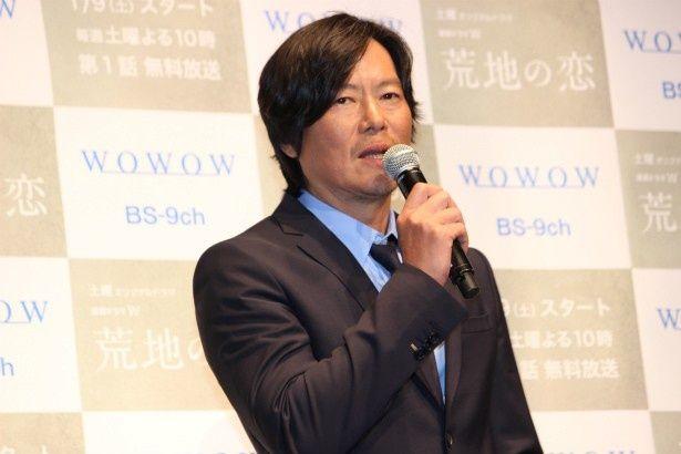主人公・北沢太郎役の豊川悦司