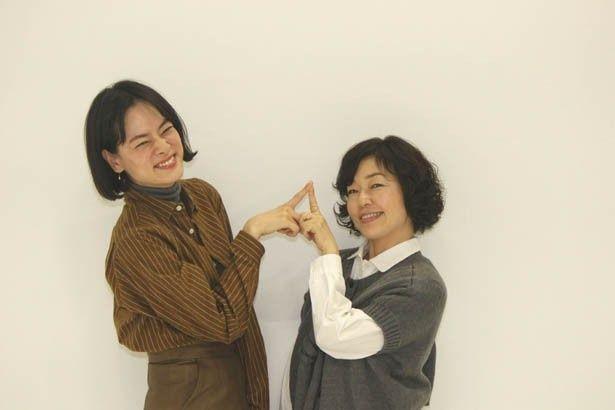 小林聡美と市川実日子の仲良し対談を敢行!