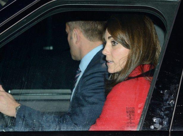 バッキンガム宮殿で開かれたプレクリスマスランチに出席したキャサリン妃