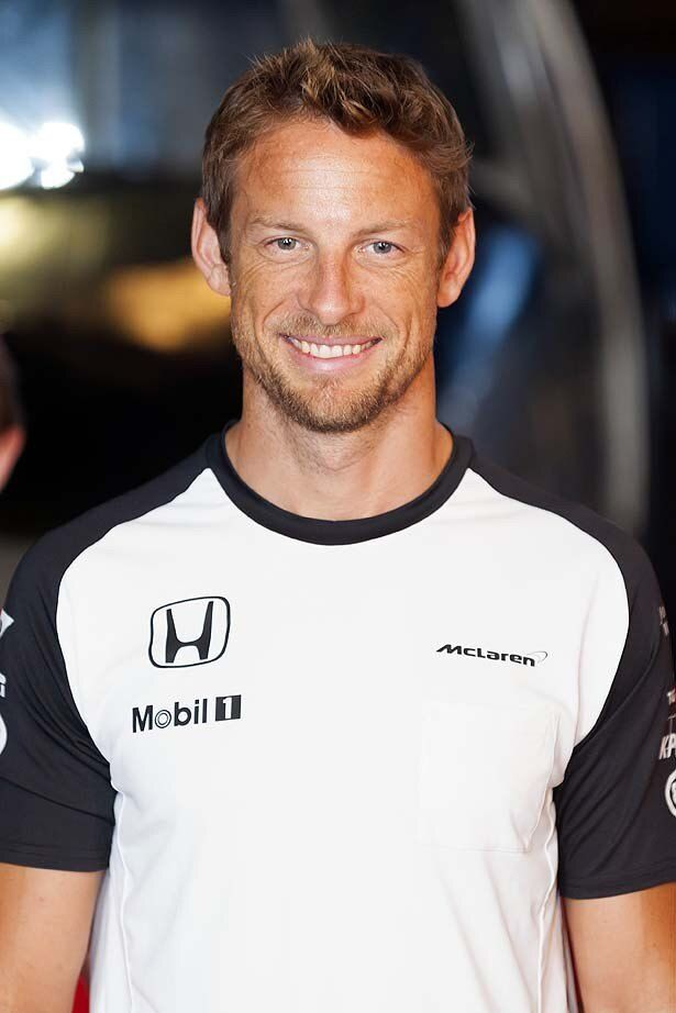 F1ドライバーのジェンソン・バトン