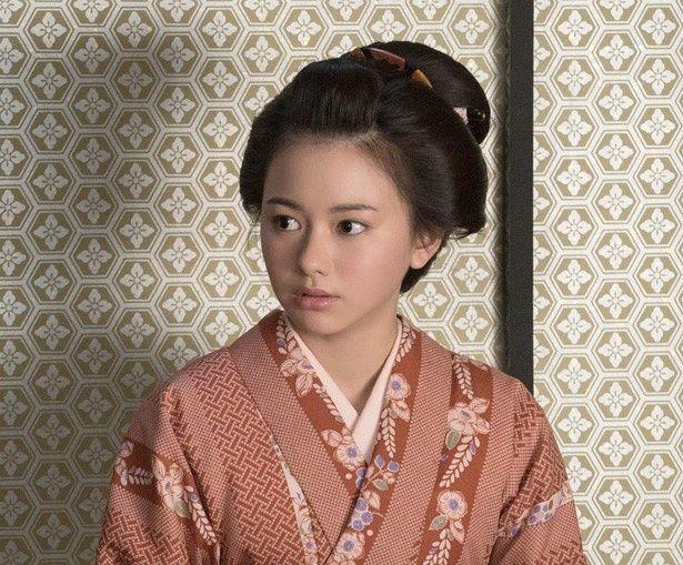 時代劇映画初挑戦となった山本舞香
