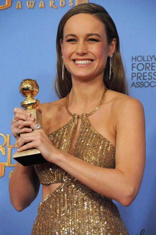 主演女優賞は『ルーム』のブリー・ラーソンが初ノミネートにして初受賞