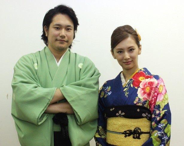 『の・ようなもの のようなもの』で共演した松山ケンイチと北川景子