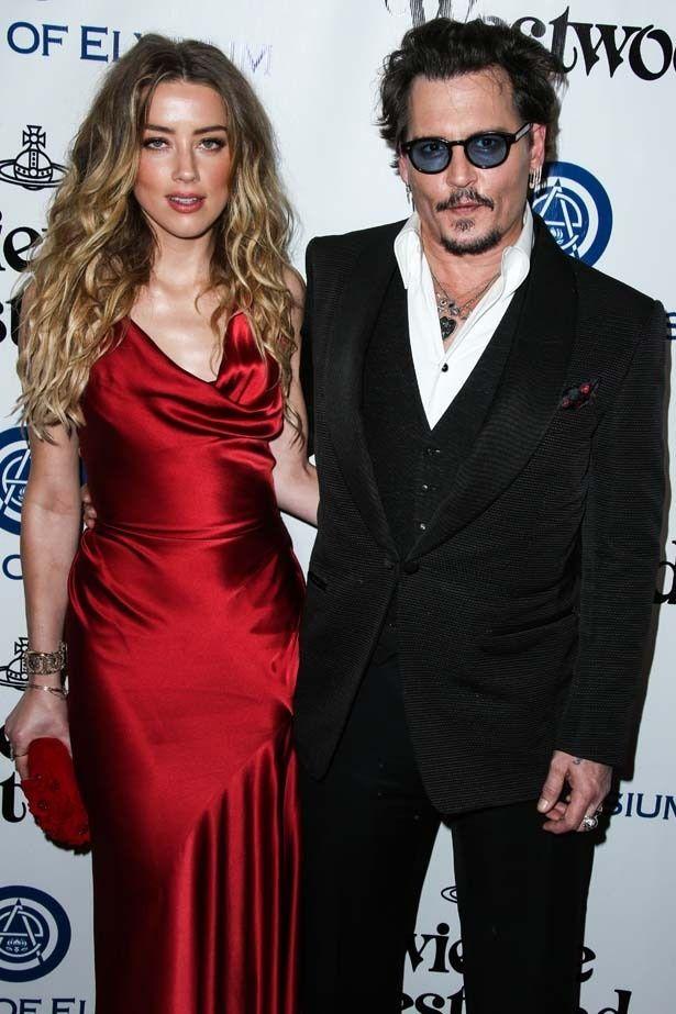ジョニー・デップと妻のアンバー・ハード
