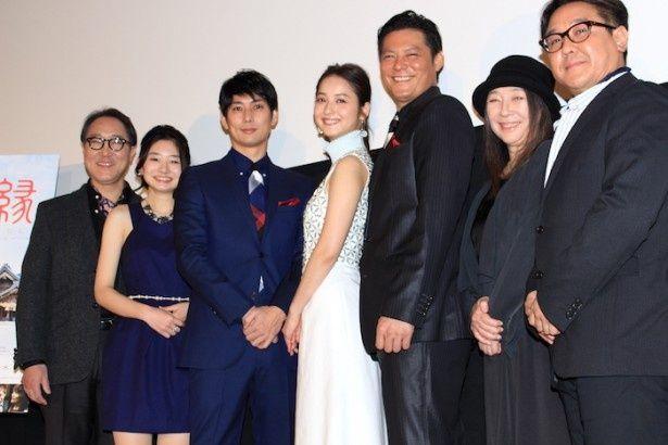 『縁(えにし) Bride of Izumo』の初日舞台挨拶が開催された