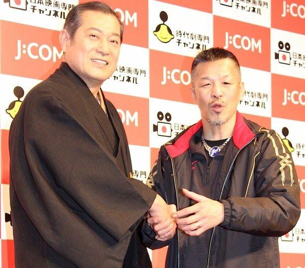 辰吉丈一郎と松平健、異色のコラボで会見をわかせた