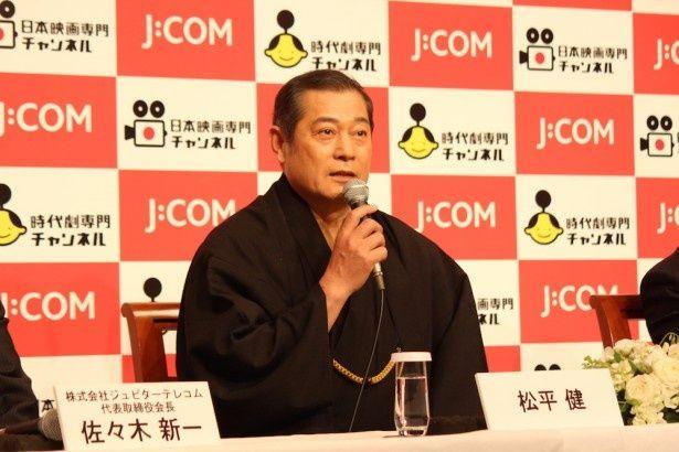 「池波正太郎時代劇スペシャル 顔」は2016年初夏、J:COMに登場する
