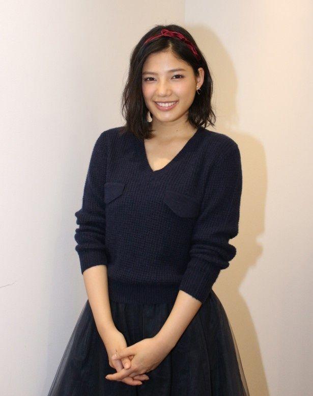 女優としてスタッフや共演者と一緒に作品を作っていく事が楽しいと語る石井杏奈