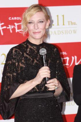 ケイト・ブランシェット来日「摂食障害の力士役なら演じてみたい」