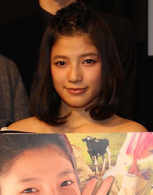 E-girlsの石井杏奈が作品への思いを語った