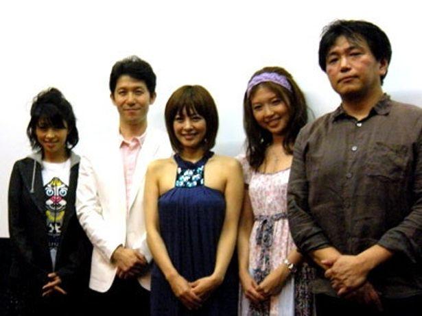 舞台挨拶には、さとう珠緒をはじめ、宮川一郎太、範田紗々、川村亜紀、高橋巖監督が登壇