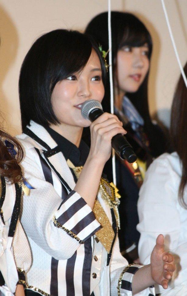 NMB48の山本彩はHKT48のファンに自分たちの作品もアピール