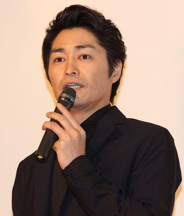 安田顕、主演映画初日も山手線でご出勤!