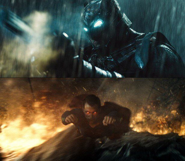 """""""素顔""""での対面シーンからいきなり火花が飛び散るバットマンとスーパーマン"""