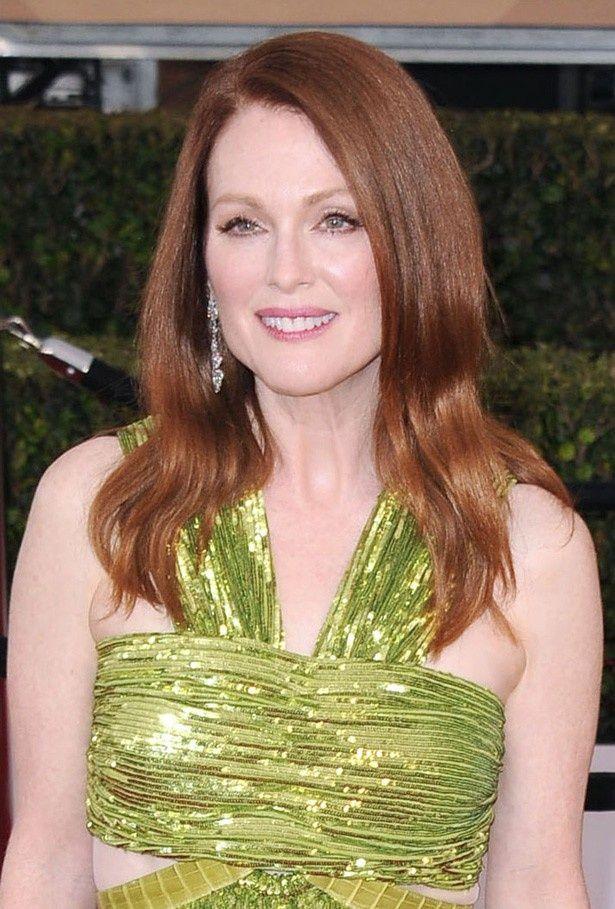 全米映画俳優組合(SAG)賞授賞式でのドレスが「ホラー」と呼ぶほどひどいと言われてしまったジュリアン・ムーア