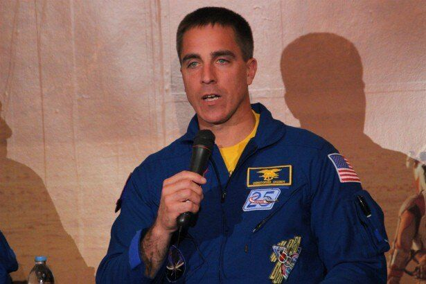 NASAのチーフ宇宙飛行士のクリス・キャシディ