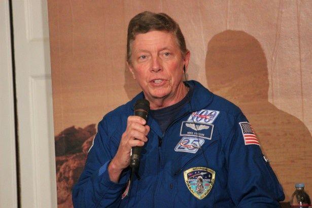 NASA宇宙飛行士のマイケル・E・フォッサム