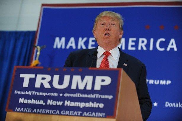 【写真を見る】アメリカ大統領選挙の有力候補であるドナルド・トランプ