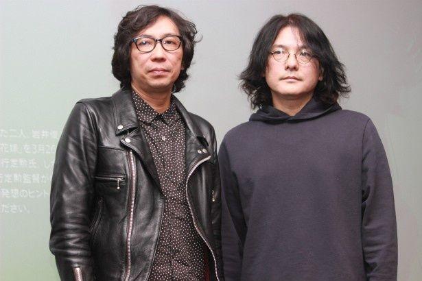 行定勲監督と岩井俊二監督がトークショーに登壇