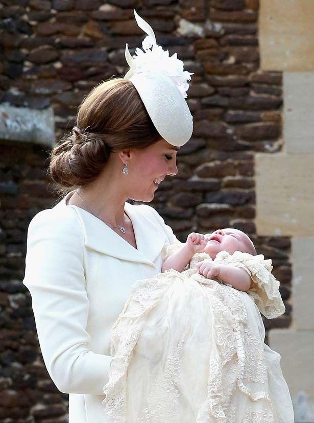 昨年5月2日に誕生したばかりのシャーロット王女