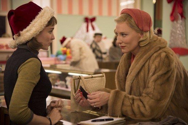 ケイト・ブランシェット、ルーニー・マーラがアカデミー賞にノミネートされている『キャロル』