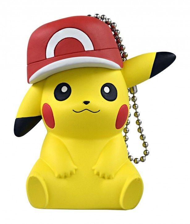 ピカチュウといつでも一緒にいられる「てのひらピカチュウ mini サトシの帽子ver.」(希望小売価格・税抜1600円)