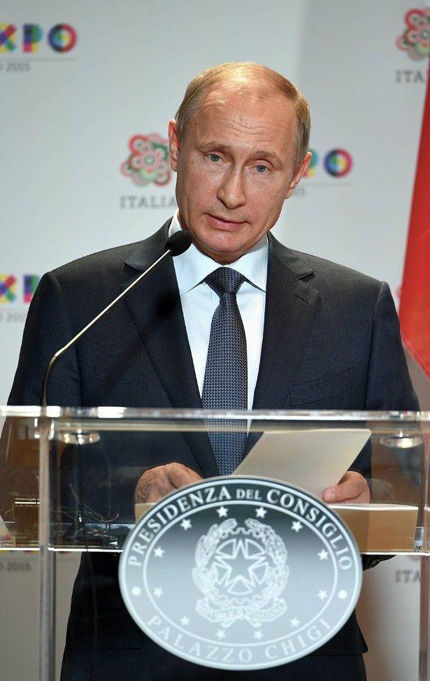 ロシアのプーチン大統領もボトックスを使用?