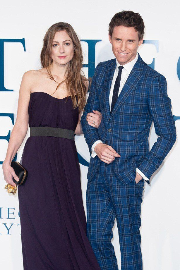 若き演技派俳優としての地位を確立したエディ・レッドメインと妻のハンナ
