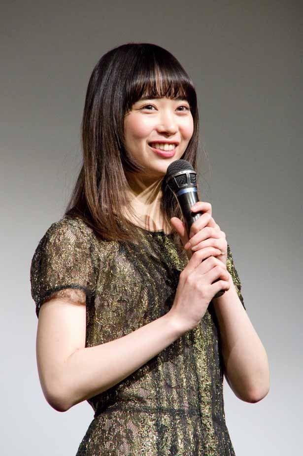 「ゆうばり国際ファンタスティック映画祭2016」で『ドロメ 女子篇』の舞台挨拶に登壇した森川葵