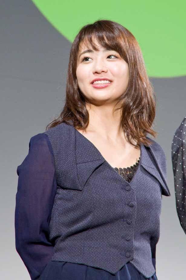 ゆうばり国際ファンタスティック映画祭2016で『メイクルーム2』上映後舞台挨拶に登壇した平嶋夏海